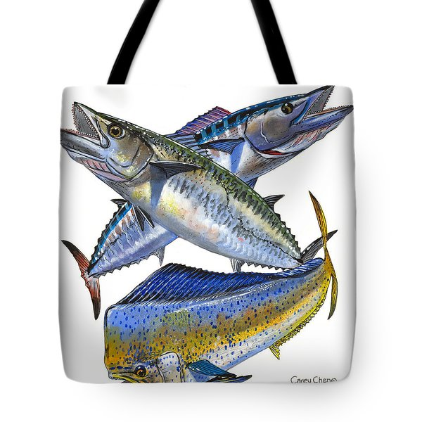 KDW Tote Bag by Carey Chen