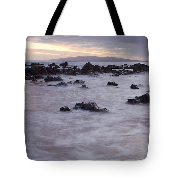 Keawakapu Tropical Nights Tote Bag by Sharon Mau