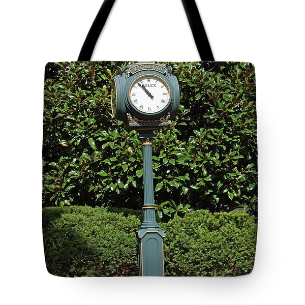 Keeneland Rolex Tote Bag by Roger Potts