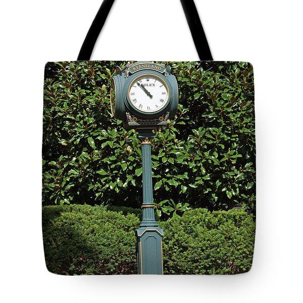 Keeneland Rolex Tote Bag by Roger Potts