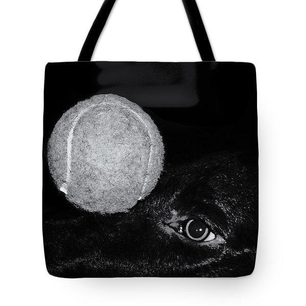 Keep Your Eye On The Ball Tote Bag by Roger Wedegis