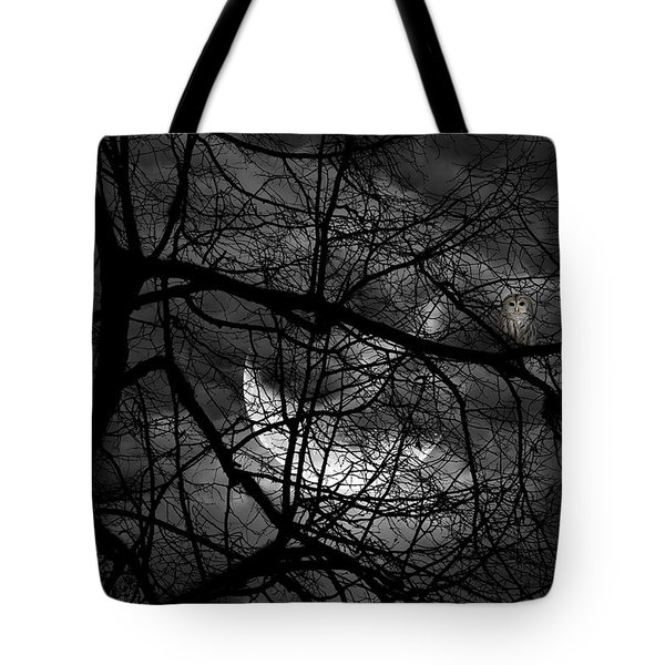 Keeper Of Spirits Tote Bag by Lourry Legarde