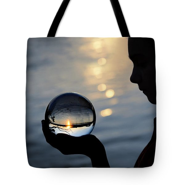 keeper of the flame Tote Bag by Laura  Fasulo