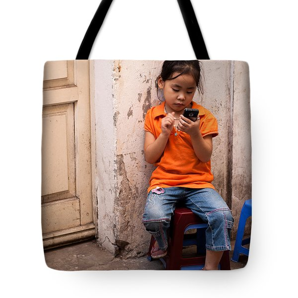 Keeping In Touch Tote Bag by Rick Piper Photography