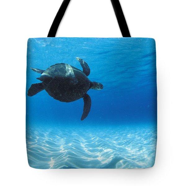 Keiki Turtle Tote Bag by Sean Davey