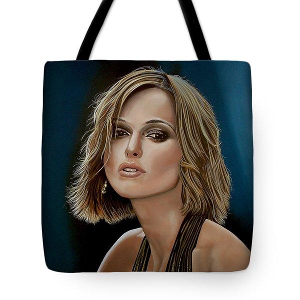 Keira Knightley Tote Bag by Paul  Meijering