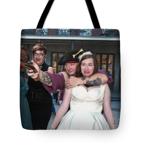 Keira's Destination Wedding - The Pirate Part Tote Bag by Kathleen K Parker
