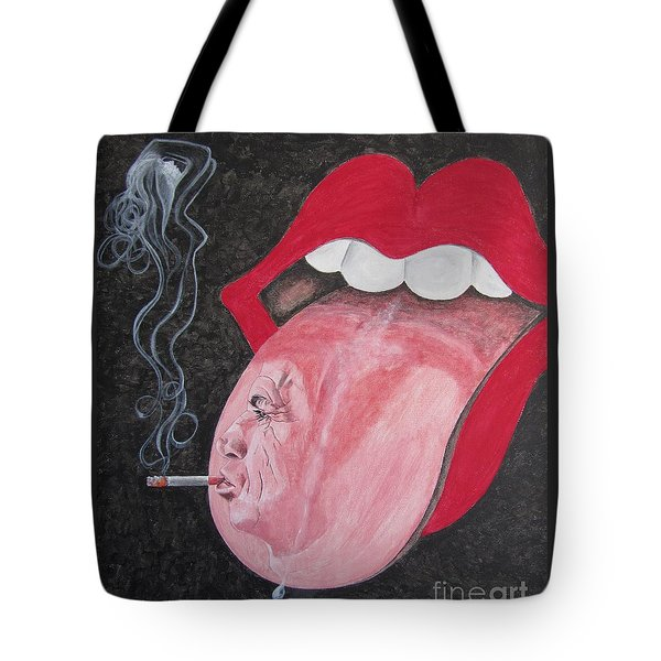 Keith Richards Tote Bag by Jeepee Aero