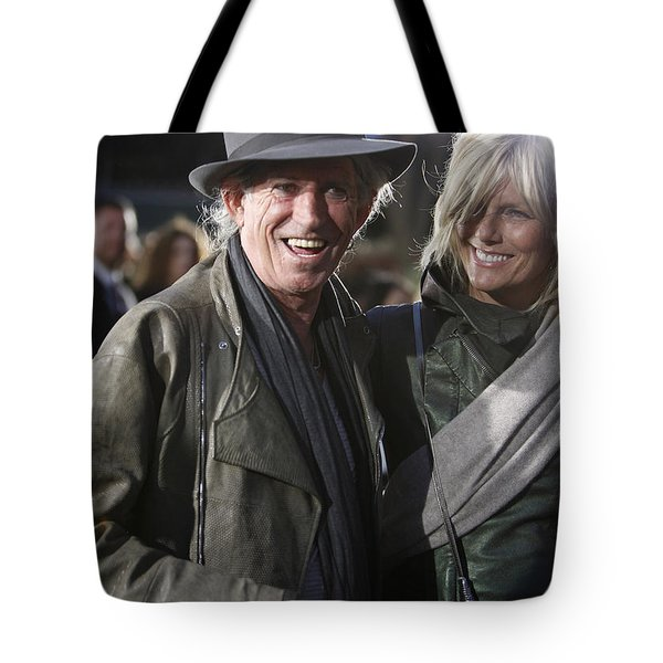 Keith Richards Tote Bag by Nina Prommer
