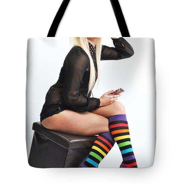 Kellie5 Tote Bag by Yhun Suarez