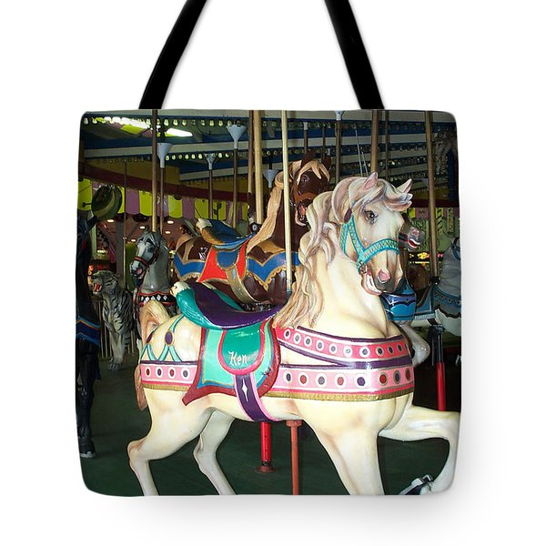 Ken Tote Bag by Barbara McDevitt