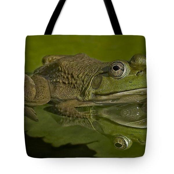 Kermit Tote Bag by Susan Candelario