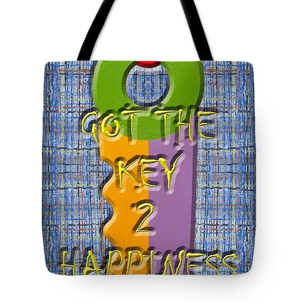 Key To Happiness Tote Bag by Patrick J Murphy