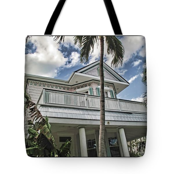Key West Dreaming Tote Bag by Joan  Minchak