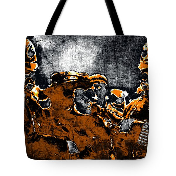 Keystone Cops - 20130208 Tote Bag by Wingsdomain Art and Photography
