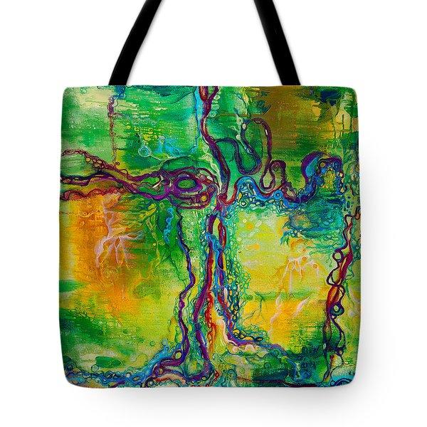 Keystone Tote Bag by Regina Valluzzi