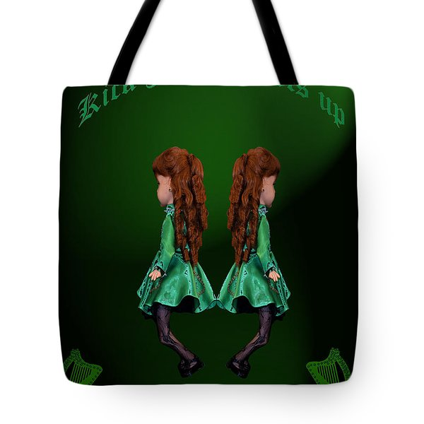 Kick Your Heels Up Tote Bag by LeeAnn McLaneGoetz McLaneGoetzStudioLLCcom