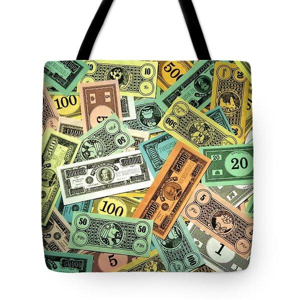 Kid Cash Tote Bag by Benjamin Yeager