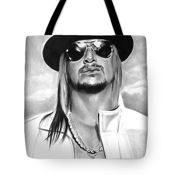 Kid Rock Tote Bag by Brian Curran