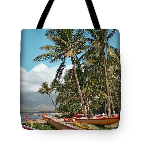 Kihei Maui Hawaii Tote Bag by Sharon Mau