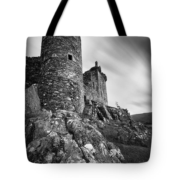 Kilchurn Castle Tote Bag by Dave Bowman
