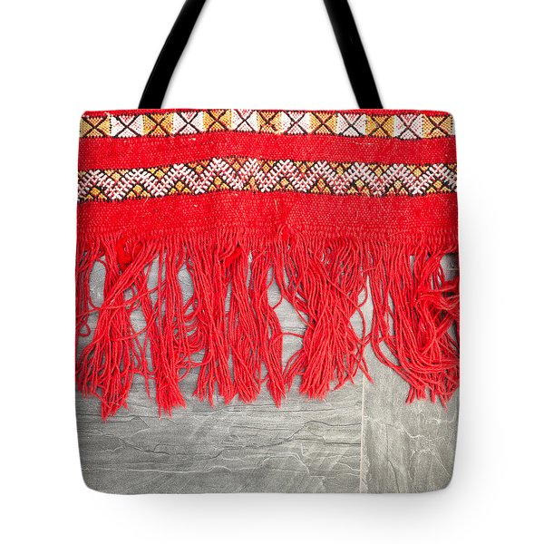 Kilim Rug Tote Bag by Tom Gowanlock