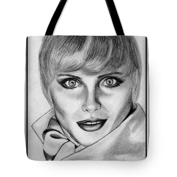 Kim Alexis In 1985 Tote Bag by J McCombie