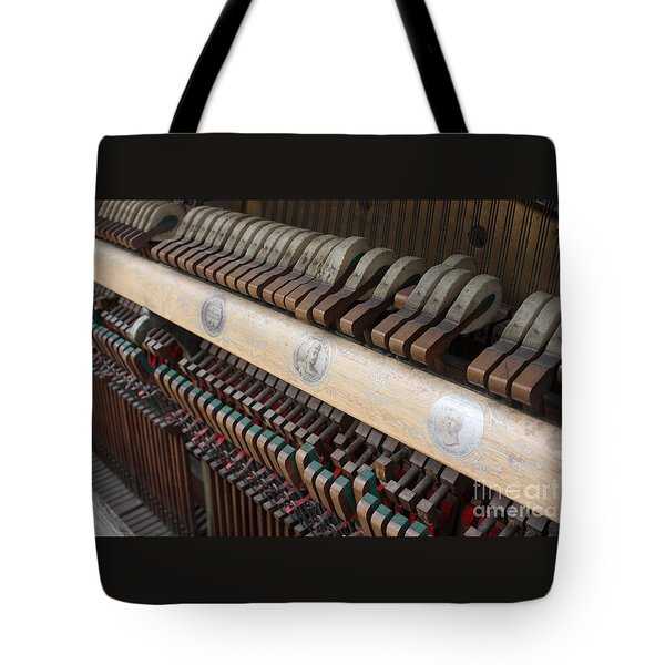 Kimball Piano-3471 Tote Bag by Gary Gingrich Galleries