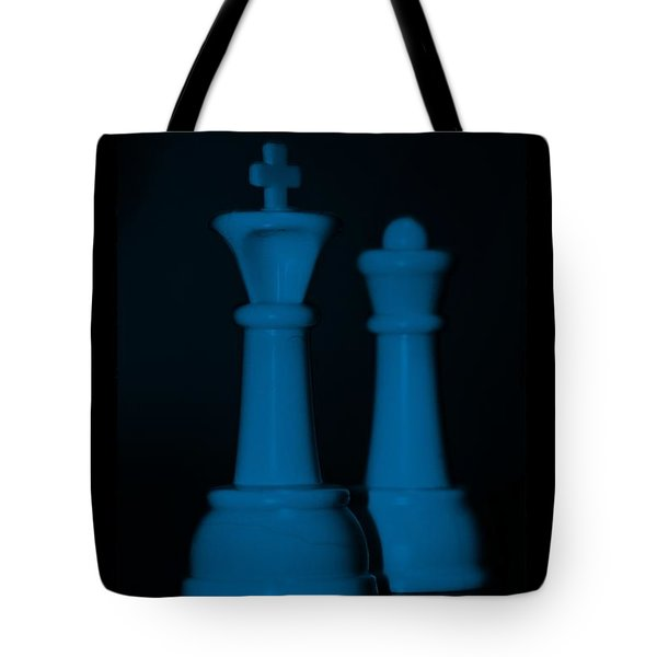 KING AND QUEEN in BLUE Tote Bag by ROB HANS