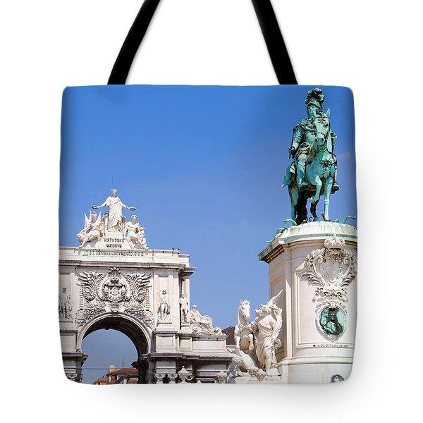 King And Triumph Tote Bag by Jose Elias - Sofia Pereira