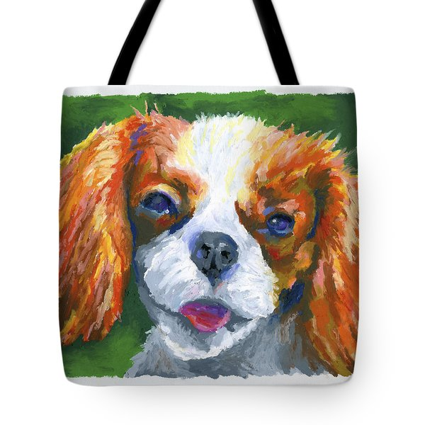 King Charles Tote Bag by Stephen Anderson