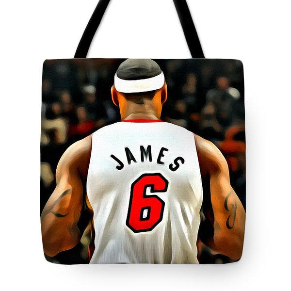 King James Tote Bag by Florian Rodarte