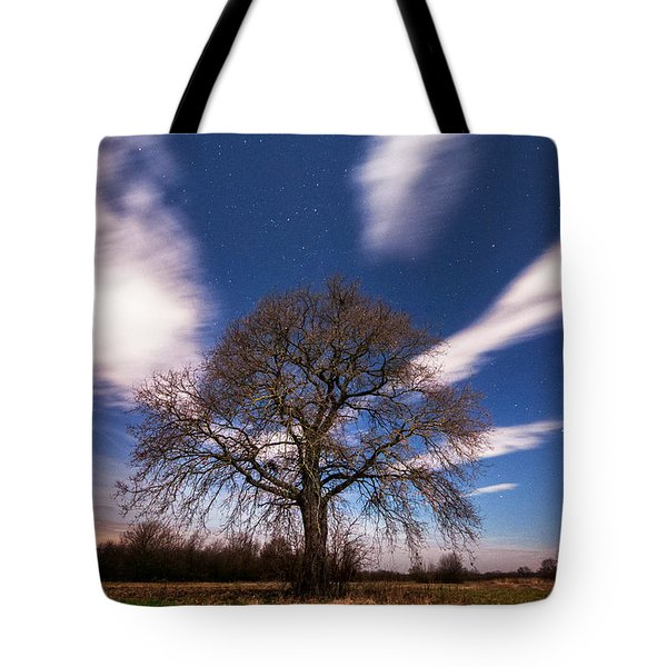 King of the night Tote Bag by Davorin Mance