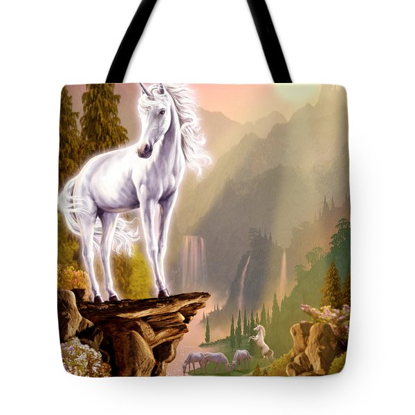 King Of The Valley Tote Bag by Garry Walton