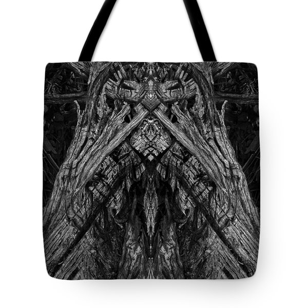 King of the Wood Tote Bag by David Gordon