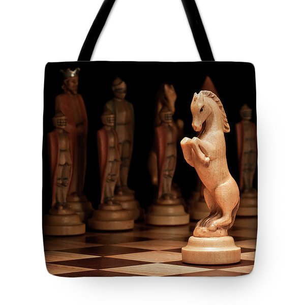 King's Court II Tote Bag by Tom Mc Nemar