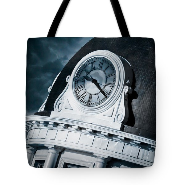 Kingstons' Clock Tote Bag by Michel Soucy