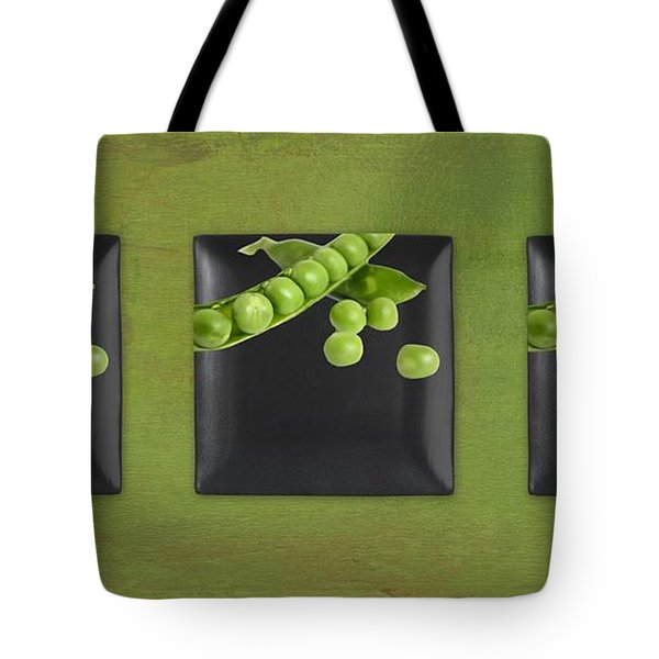 Kitchen Art - Peas - 02t01b Tote Bag by Aimelle