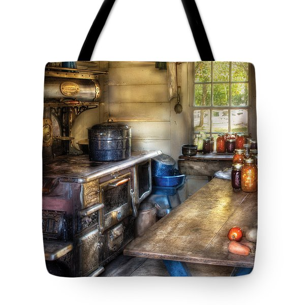 Kitchen - Home Country Kitchen  Tote Bag by Mike Savad