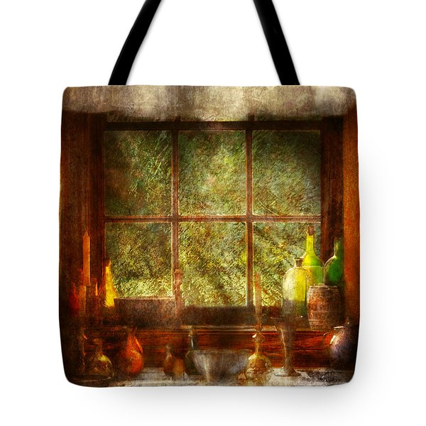 Kitchen - Table Setting Tote Bag by Mike Savad