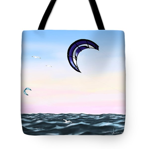 kite Tote Bag by Veronica Minozzi