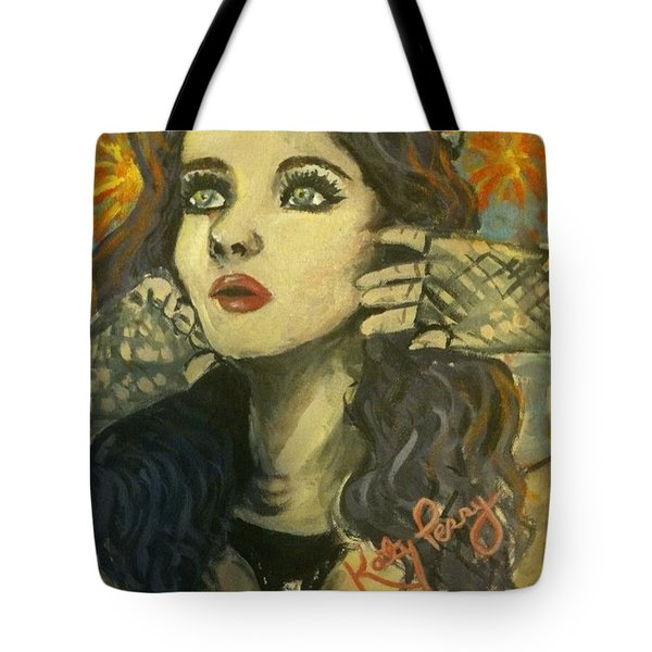 Kitty Perry Tote Bag by Alana Meyers