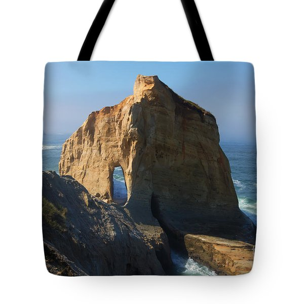 Kiwanda Mist Tote Bag by Mike  Dawson