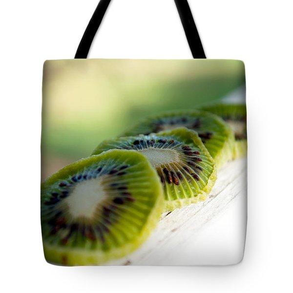 Kiwi Four Tote Bag by Gwyn Newcombe