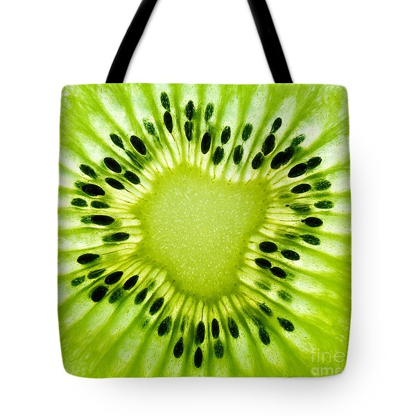 Kiwism Tote Bag by Delphimages Photo Creations