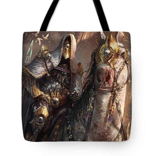 Knight Of Obligation Tote Bag by Ryan Barger