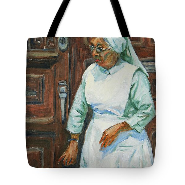 Knocking On Heaven's Door Tote Bag by Xueling Zou