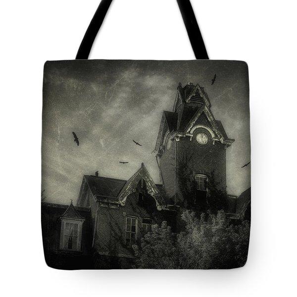 Knox County Poorhouse Tote Bag by Tom Mc Nemar