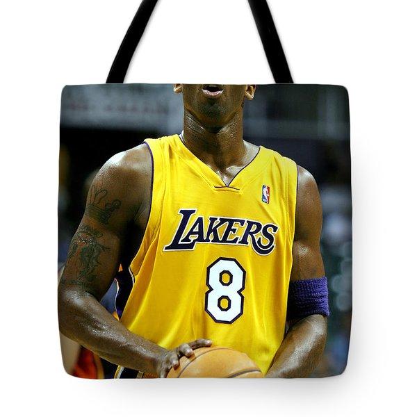 Kobe Bryant Tote Bag by Mountain Dreams