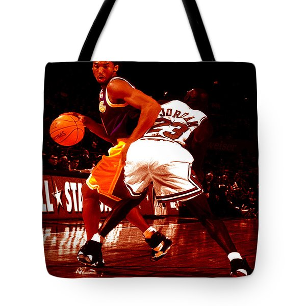 Kobe Spin Move Tote Bag by Brian Reaves